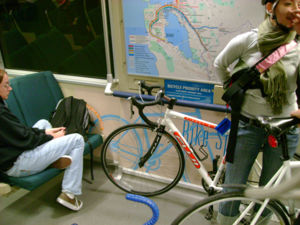 Bikes On Bart Folding bicycles