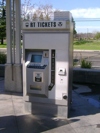 Sacramento Rt Light Rail Ticket Machine Transit Wiki