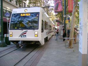 VTA Light Rail Nice Design